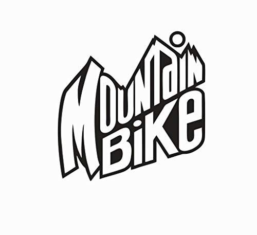 Crazy Discount Vinyl Sticker Decal Mountain Bike Biking Dew for Windows Car Cell Phone Bumpers Laptop Wal, 4