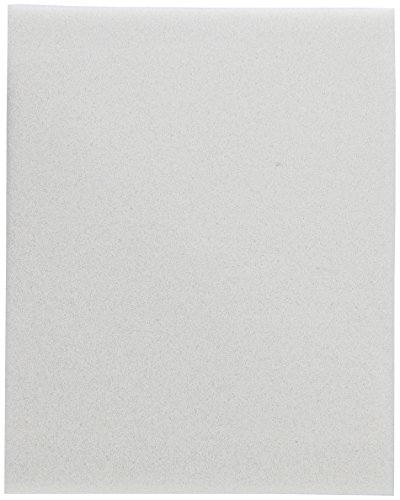 Contec FZ451/8 FoamZorb Hydrophilic Polyurethane Foam Wipe, 4'' Length x 5'' Width x 1/8'' Thick (Pack of 50) by CONTEC