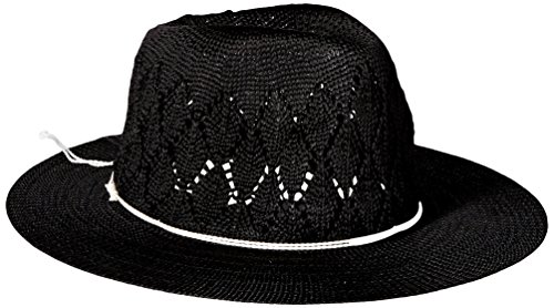 Physician Endorsed Women's Frankie Knit Fedora Sun Hat w/...