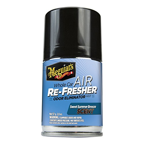 Price comparison product image Meguiar's G16602 Whole Car Air Refresher Odor Eliminator (Sweet Summer Breeze Scent) - 2 oz.