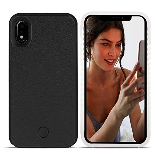 Avkkey iPhone XR Led Case iPhone XR Selfie