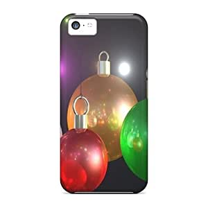 ConnieJCole Case Cover For Iphone 5c - Retailer Packaging X Mas Balls Protective Case