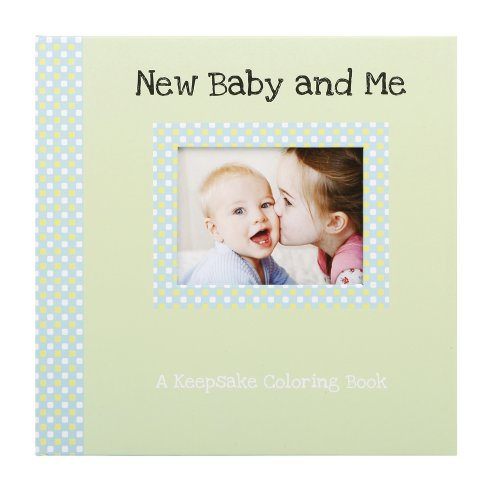 Gibby & Libby Keepsake Coloring Book, New Baby and Me by C.R. Gibson