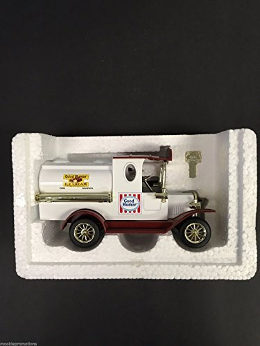 Golden Wheel 1/24 1925 Ford T Good Humor Delivery Tanker Truck Diecast Coin Bank (Case Pack 6)