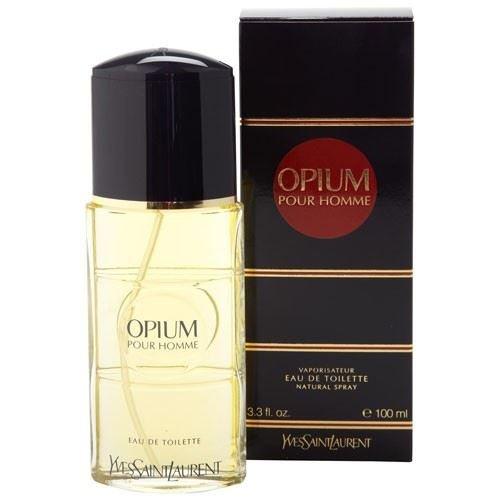 (OPIUM by Yves Saint Laurent Eau De Toilette Spray 3.3 Oz - Cologne for Men)