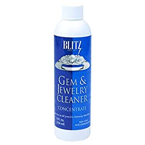 Blitz Gem & Jewelry Cleaner Concentrate (8 Oz)