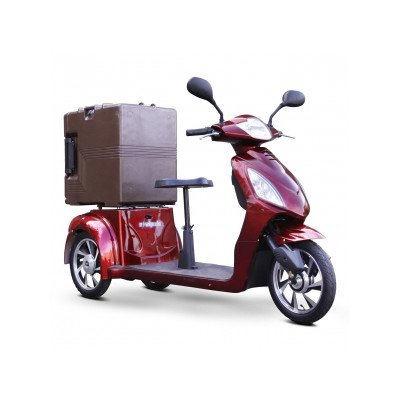 Electric Utility Vehicle with Food Carrier