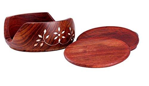 YUV Handmade Wooden Lotus Coaster Price & Reviews