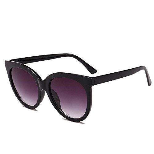 Mujer Retro 06 Nueva Ojos Gafas A UV Protección 01 para Viento Prueba Sol Moneda Cara Marco Personalidad Protección Redondo Visera xuexue De Creativo Los De Redonda Moda wtdFqqxCP