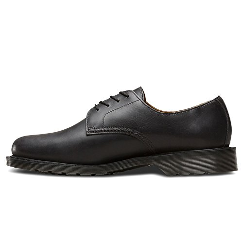 Dr.Martens Mens Octavius Leather Shoes Gunmetal