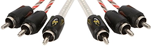 Stinger SI496 6-Foot 4000 Series Audio/Video RCA Interconnect Cable