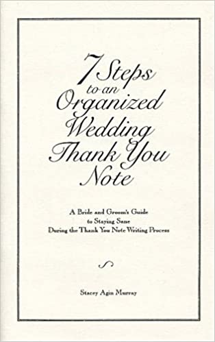 Steps To An Organized Wedding Thank You Note A Bride And GroomS