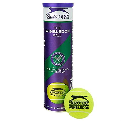 Slazenger Wimbledon Official Tennis Balls- 3 Tubes 12 Balls