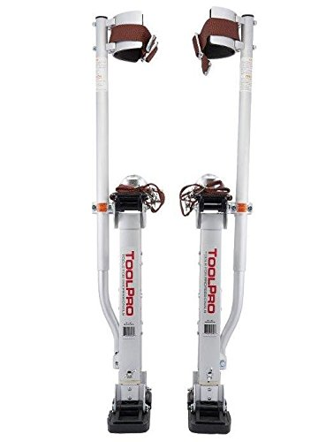 ToolPro Aluminum Stilts, Adjustable Height 24 - 40'' by TOOLPRO