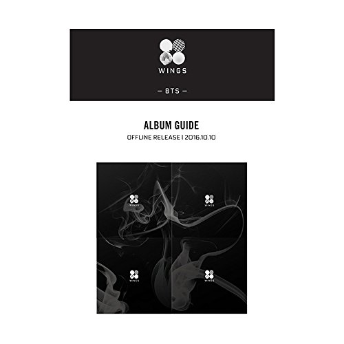 Price comparison product image BANGTAN BOYS 2nd KPOP BTS WINGS Vol. 2 Album [ W Version ] CD + Photobook + Photocard + Gift (4 Photocards Set)