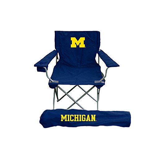 Rivalry Distributing RIV-RV271-1000 Michigan Wolverines NCCA Ultimate Adult Tailgate (Ultimate Tailgate Chair)