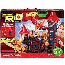 Fisher-Price TRIO Wizard's Castle Building Set with Bonus
