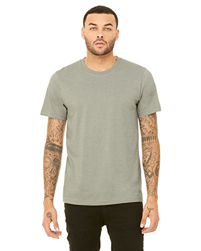 Wholesale Bella (CN MEN GREENWICH FITTED TEE, HEATHER STONE, 3XL)
