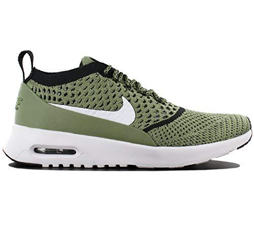 Nike Air Max Thea Ultra Fk Womens Running Trainers 881175 Sneakers Shoes (UK 5 US 7.5 EU 38.5, Palm Green White Black 300) ()