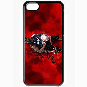 Personalized iPhone 5C Cell phone Case/Cover Skin 14889 heat wp 69 sm Black
