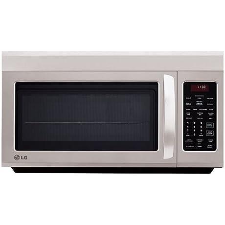 LG OTR 1 8 CF 1100 Watt Microwave SS