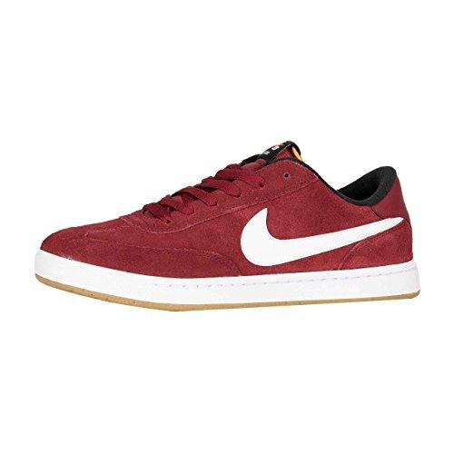 Nike Sb Fc Klassieke Suede Skate Schoen, Team Rood / Wit-zwart, 12
