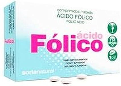Retard Ácido Fólico 48 comprimidos de Soria Natural