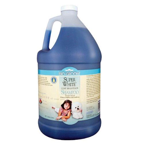 Bio-groom Super White Pet Shampoo, 2-1/2-Gallon