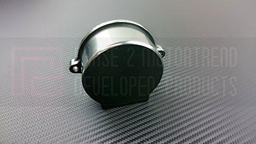 P2M Nissan SR20DET Billet Aluminum Crank Angle Sensor Cover Gun Metal P2-CASNSR20G-GD