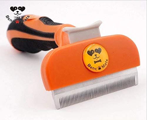 Pet Brush Pet Brush Synthetic Rubber Wheel with Stainless Blade Pet Supplies Flea Predection Flea Removal Cure Comb Hair Making Grooming Tool Function Maintain Small Medium Dog Cat