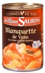 Veal Stew - William Saurin Veal Stew with Veggies and Cream - 14.11 oz - 1 serving