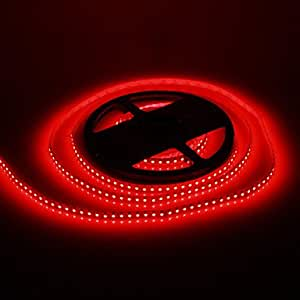 LIMME 5M 48W 120x3528SMD 1800-2400LM Red Light LED Strip Light (DC12V)