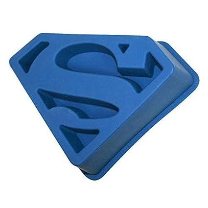SD Toys SDTWRN02237 - Molde para horno de silicona, diseño Superman Molde Silicona, centimeters