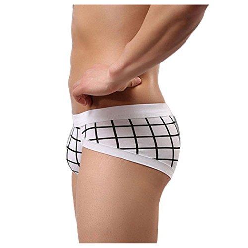 ba34b47560 70%OFF Inkach Sexy Mens Underwear Soft Cotton Shorts Men Boxer Briefs  Underpant