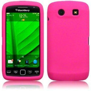 N4U Online Hot Pink Silicone Case Cover Skin For Blackberry 9860 Torch