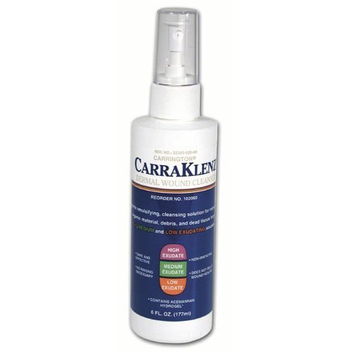 Carrington Carra-Klenz 6 Oz Wound & Skin Cleanser, Pump Bottle (CA102060) Category: Specialty Dressings Woundcare Products ()