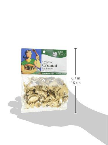 Terra Dolce Organic Crimini Mushrooms, 0.75 Ounce