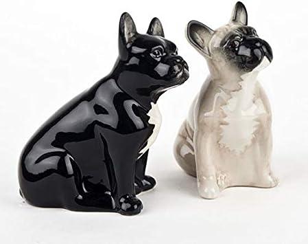 Caille Céramique-COCKER SPANIEL poivre et sel-Noir et Blanc