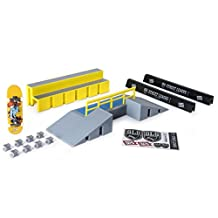 Tech Deck – SLS Pro Series Skate Park - Fun Box with Rail and Signature Pro Board