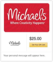 Michaels Gift Cards - Email Delivery
