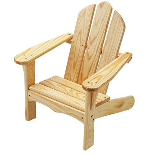Little Colorado Childu0027s Adirondack Chair  Unfinished