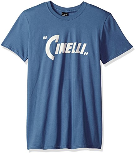 Cinelli Pennant T-Shirt, Steel Blue, X-Large