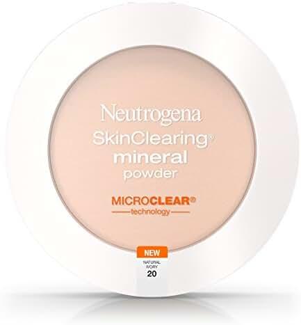 Neutrogena Skinclearing Mineral Powder, Natural Ivory 20, .38 Oz.