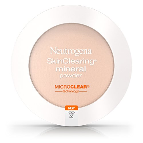 Neutrogena Skinclearing Mineral Powder, Natural Ivory 20, .38 Oz. (Pack of 2)