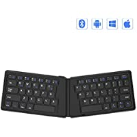 Jelly Comb Ergonomic Folding Rechargeable Bluetooth Keyboard