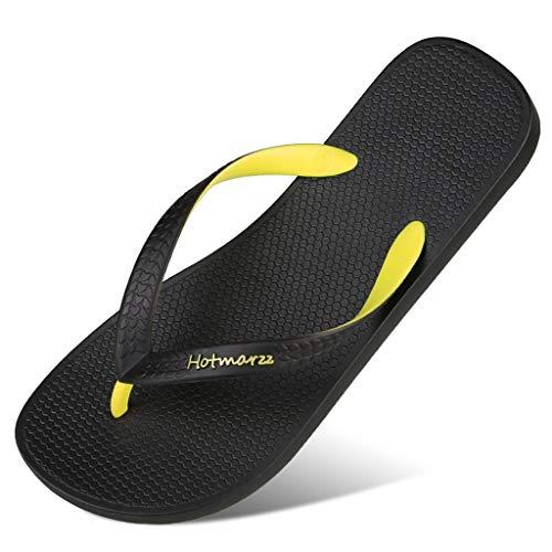 Plage Chaussures Plage d'été Chaussures de de Yellow 0HqvwSw