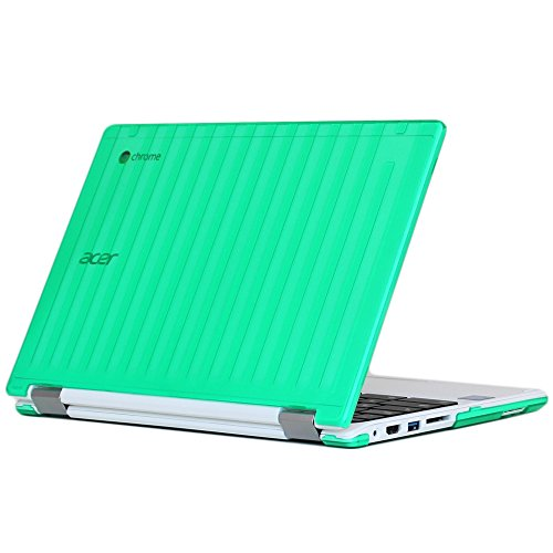 Ipearl Mcover Hard Shell Case For 13 3 Acer Chromebook R13 Cb5 312t Series Not Compatible With Acer R11 And Other 11 6 Chromebooks Convertible Laptop Acer R13 Green
