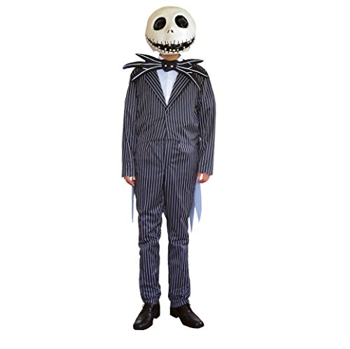 Nightmare Before Christmas Costume - Jack Skellington Costume - Teen/Men's S/M -