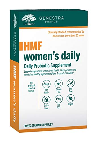 Genestra Brands - HMF Women's Daily - GI and Urinary Tract Health Support for Women* - 30 Vegetarian Capsules by Genestra Brands (Image #3)