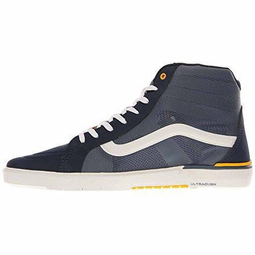 Vans - Zapatillas de skateboarding para hombre azul azul marino